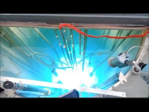 Nuclear reactors glowing on start-up   fun funny funny pics