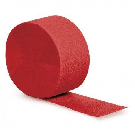 Cintas de papel crepe para hacer decoraciones de cumpleaños de Minnie Mouse en tonos rojos #cumpleañosminnie #cumpleminnie #minniemousebirthday #minniebirthday #fiesatminniemouse #fiestaminnie #minniemouseparty #minnieparty #minnierosa #minnieroja #decoracionfiestaminnie #globosminnie #velaminnie