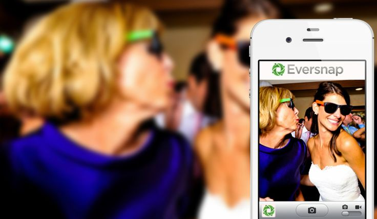 Eversnap App enables weddings, events, & groups to collect all their guests photos & videos in one online album via our iPhone, Android and Web Apps.