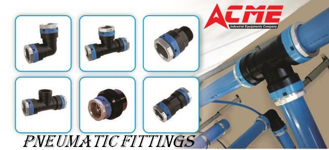 We ACME Industrial Equipment's hold skill in offering our customers, a broad cluster of Pneumatic Tube Fittings that are manufactured with precision. Pneumatic Pipe Fittings are exceptionally designed by our professionals and these are demanded among our vast customer base from across the industry due to excellent attributes. For more info visit @https://goo.gl/aUfLns  Contact : +91 9908082672 / acme.salesdept@gmail.com #pipefittings #pipefittingsmanufacturers…
