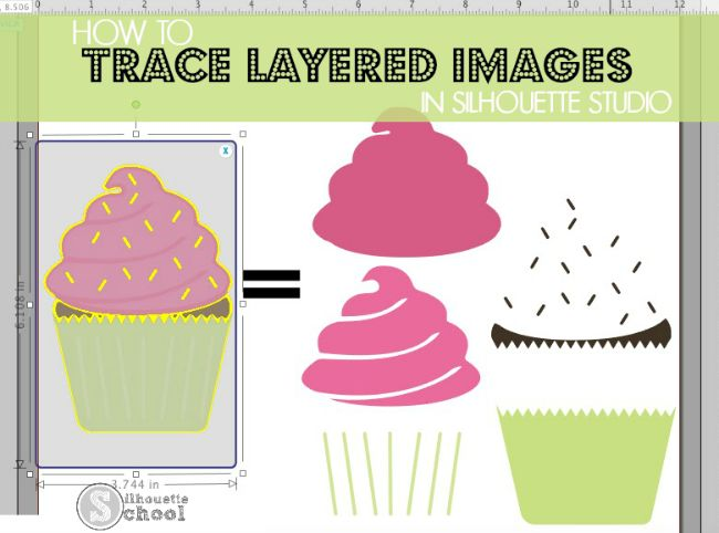 How to Trace Multi-Colored Layered Images in Silhouette Studio
