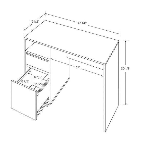 Storage Desk Espresso Room Essentials Target Desk Storage Desk Best Desk