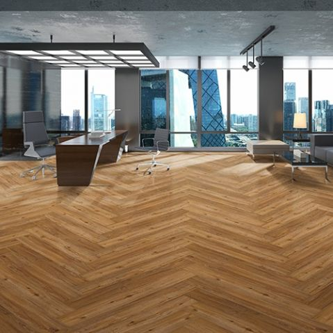 DAVENPORT from Belgotex Floors is a combination of rustic tones and textures, which makes it the perfect LVT product for any commercial installation that requires performance and aesthetic appeal.