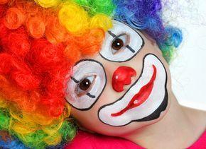 maquillaje payaso - Buscar con Google Más