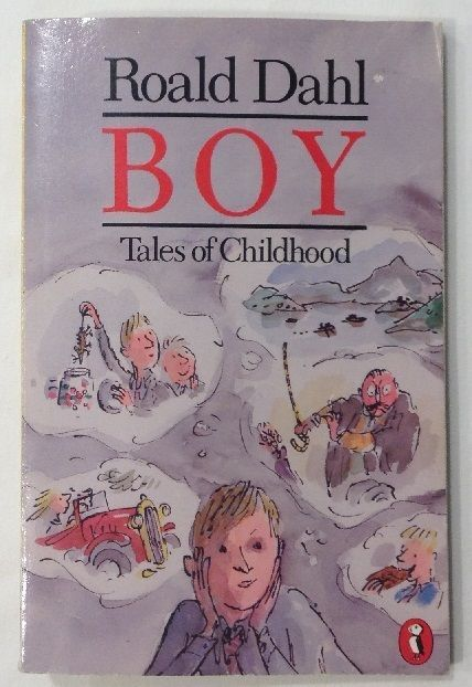 Boy: Tales of Childhood by Roald Dahl (1986, Paperback)
