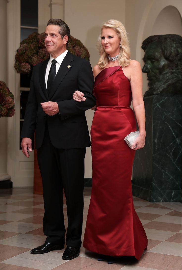 Andrew Cuomo and Sandra Lee
