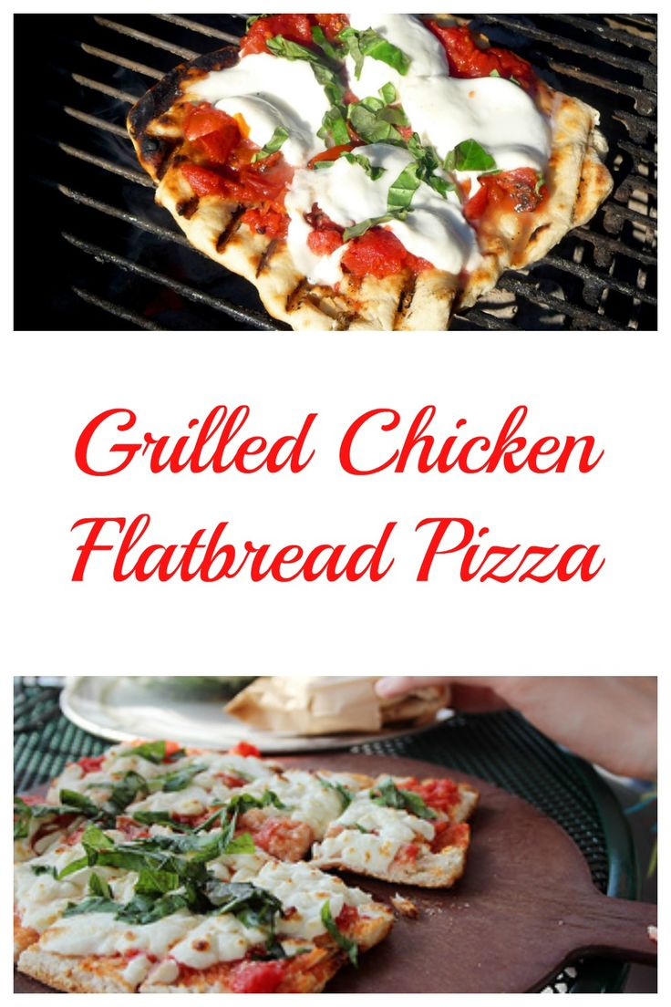 I love pizza, it is even better on the grill. Your are going to want to check out this Grilled Chicken Flatbread Pizza, it is delicious.