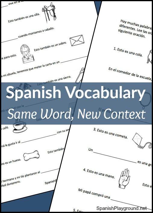 135 best Easy Spanish Activities for Kids images on Pinterest ...