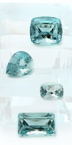 Aquamarine - my birth stone <3
