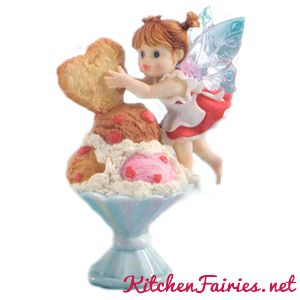 Finishing Touch Fairie - From Series Twenty Four of the My Little Kitchen Fairies collection