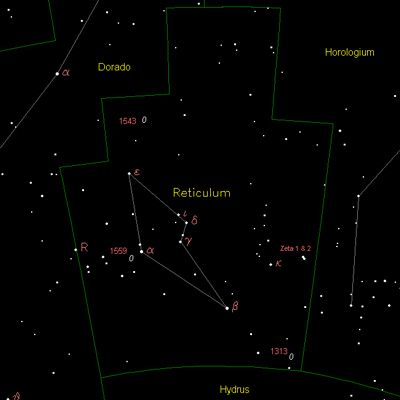 The Reticulum Constellation - Exra-terrestrials from Zeta Reticuli in Reticulum Constellation - Betty and Barney Hill (this calls for comment)