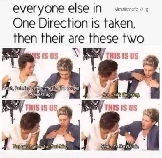 Haha, Niall does have a girlyfriend..me