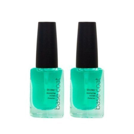 Lot 2 CND Colour Nail STICKEY ANCHORING BASE COAT .33 oz Polish Salon Manicure -- You can get more details by clicking on the image.