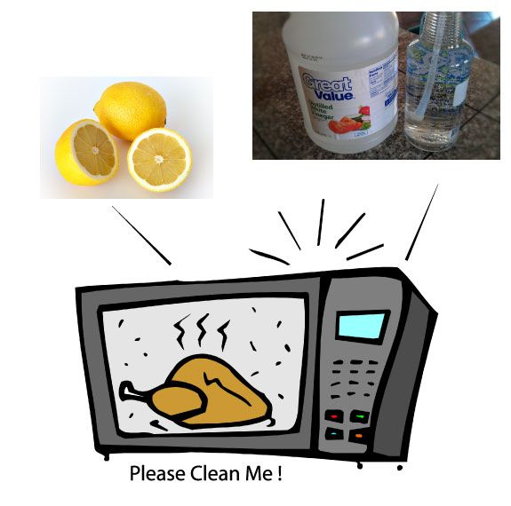 How To Clean A Microwave Oven   Simple Easy Tips - Fast, Affordable Plumbing and Rooter Services. Clean your microwave oven with water and dish soap, or a lemon, or vinegar.