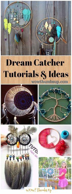 DIY Dream Catcher Tutorials & Ideas