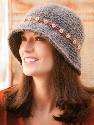 15 best gorros tejidos images on Pinterest | Crochet hats ...  15 best gorros ...