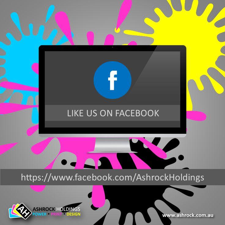 Like us on #facebook @ https://www.facebook.com/AshrockHoldings