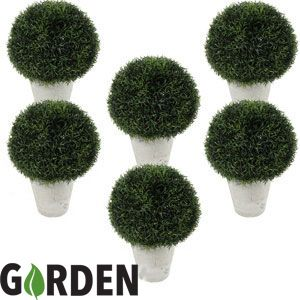 Picture of Artificial Plant: Topiary Ball (Set of 6)