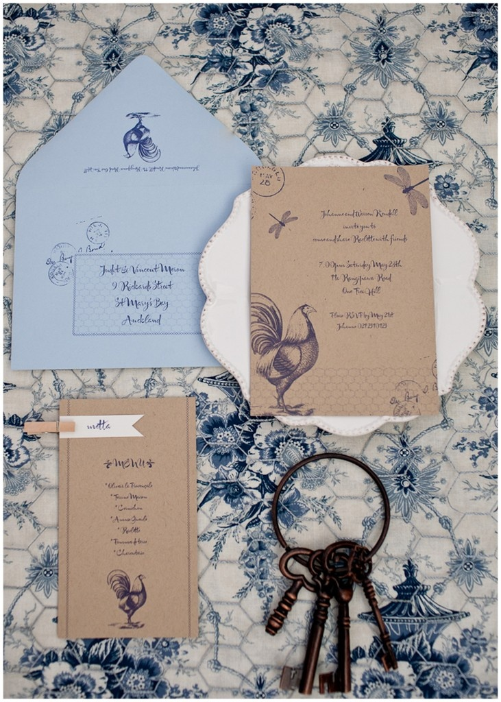 French Country Invites