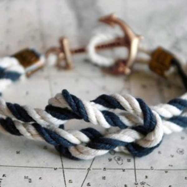 Nautical abbyfenton  Nautical  Nautical: James Of Arci, Anchors Bracelets, James Patrick'S, Knots Bracelets, Women Accessories, Kiel James, Styles, Nautical Bracelets, Ropes
