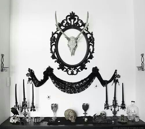 Gothic Home Decor 1028 best home spooky home images on pinterest | haunted mansion