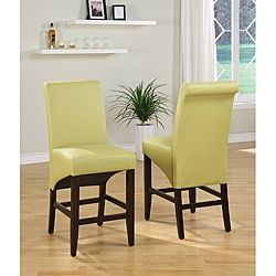 Shop for Sleigh Back Green Counter Stool (Set of 2). Get free shipping at Overstock.com - Your Online Furniture Outlet Store! Get 5% in rewards with Club O!
