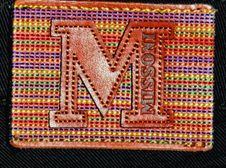 etiqueta de cintura Missoni.