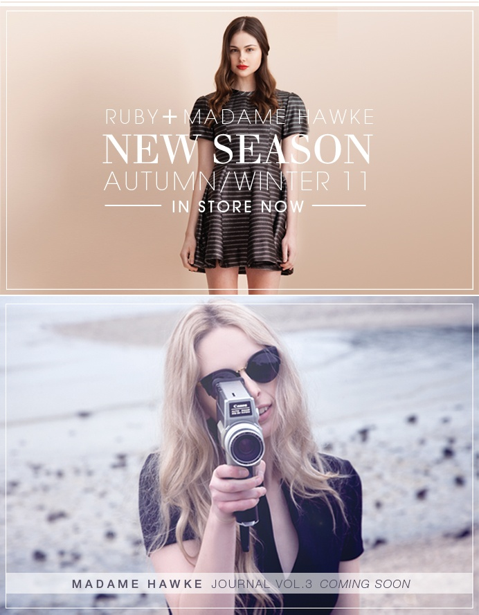 Ruby New Season Advertisement