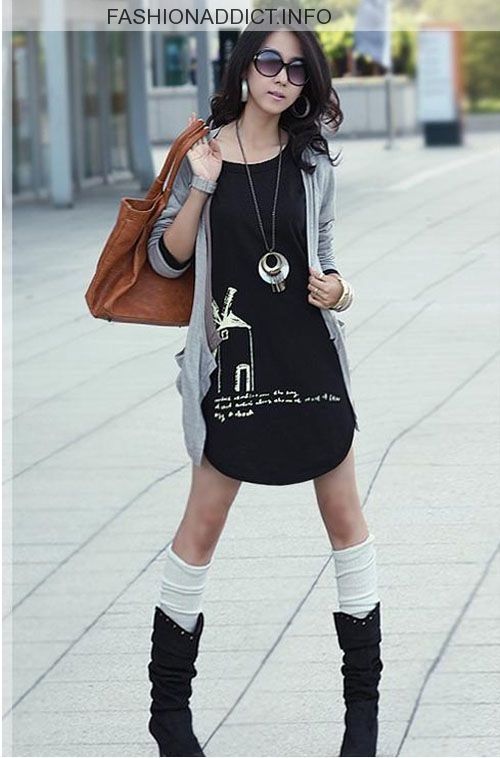 Korean Girl Street Fashion