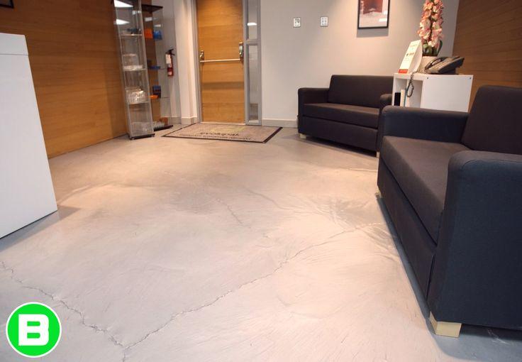 Nice waiting room ! #office #polyurea #plancher #entreprise #business #floor