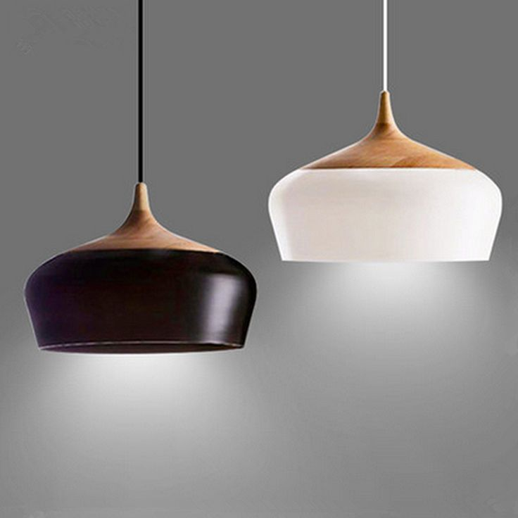 Tulip Black Pendant light