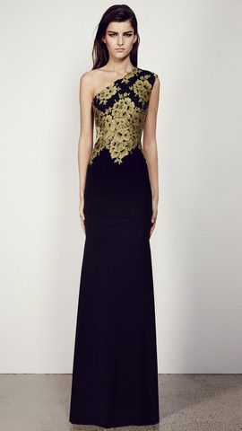 Darcelle French Lace Gown by Alex Perry - Maximillia eBoutique