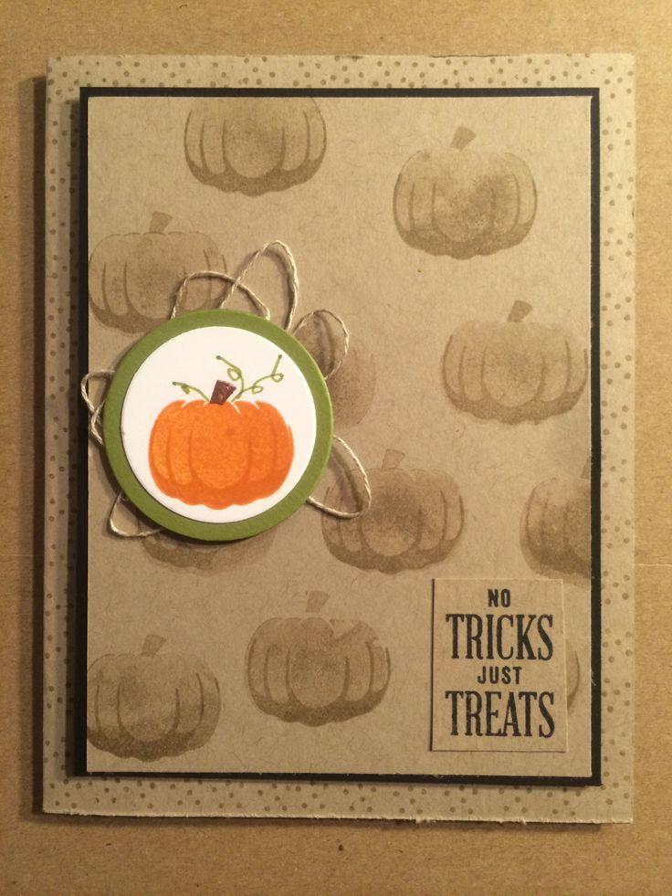 Stampin Up Paper Pumpkin alternative ideas September