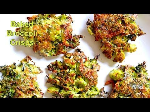 Baked Broccoli Crisps | FoodForYourGood.com - YouTube
