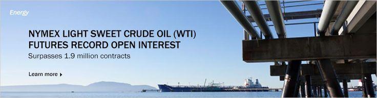 August 15, 2013:NYMEX Light Sweet Crude Oit (WTI) Futues Record Open Interest