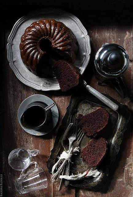 Choco Rum Bundt Cake