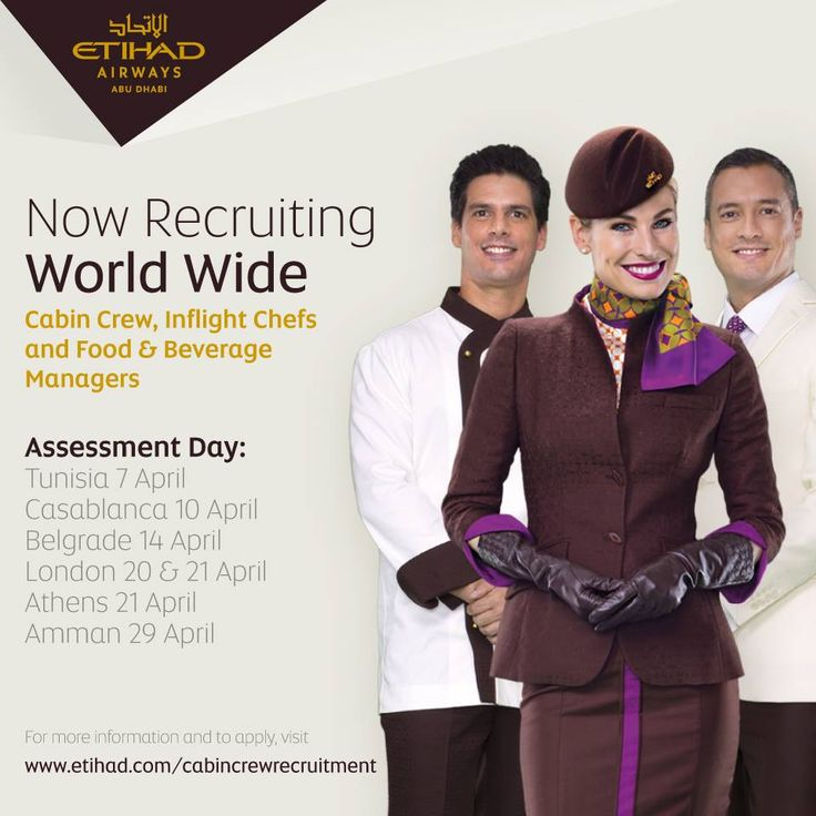 cabin crew jobs at etihad airways take your career to a new height by joining our - Apply For Stewardess Job