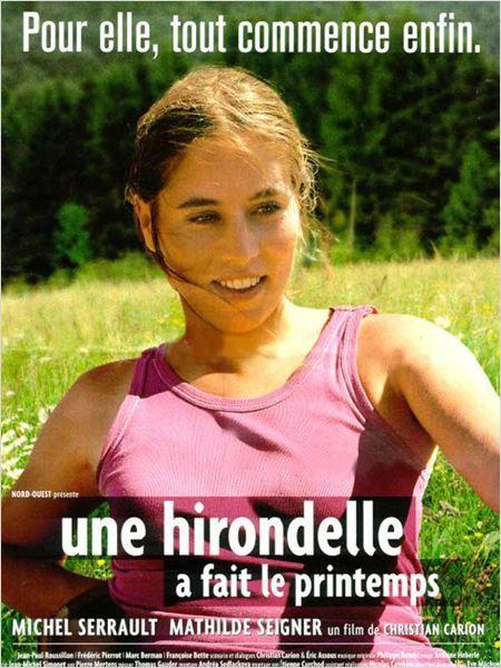 Une hirondelle a fait le printemps : affiche Christian Carion, Mathilde Seigner