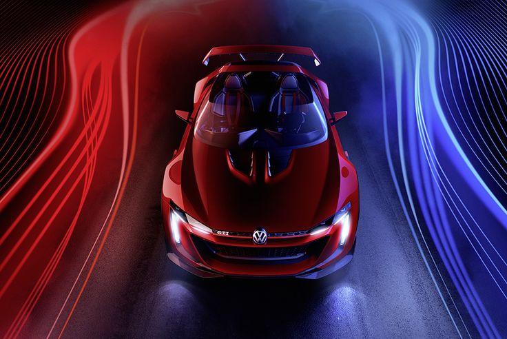 Volkswagen GTI Roadster – Vision Gran Turismo Concept