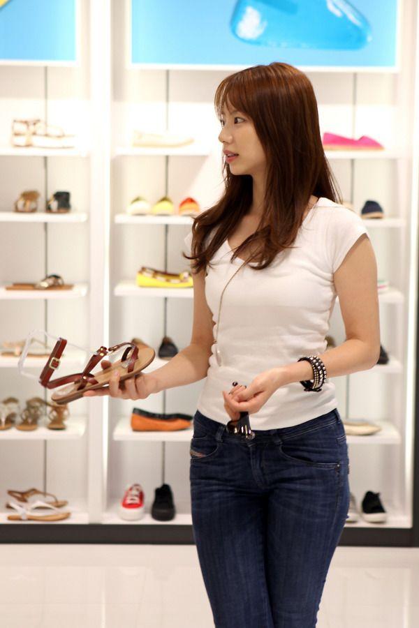 Park Su-Jin 박수진 흰티+청바지 4p