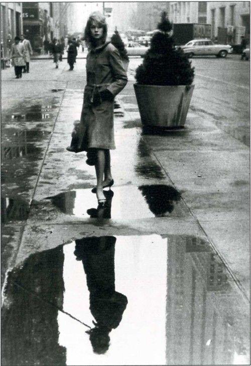 jean shrimpton NYC 1962