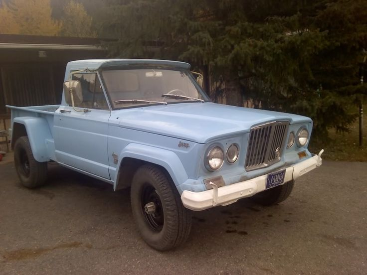 Truck Is A 1963 1965 J 200 Standard Cab Jeeps Jeep