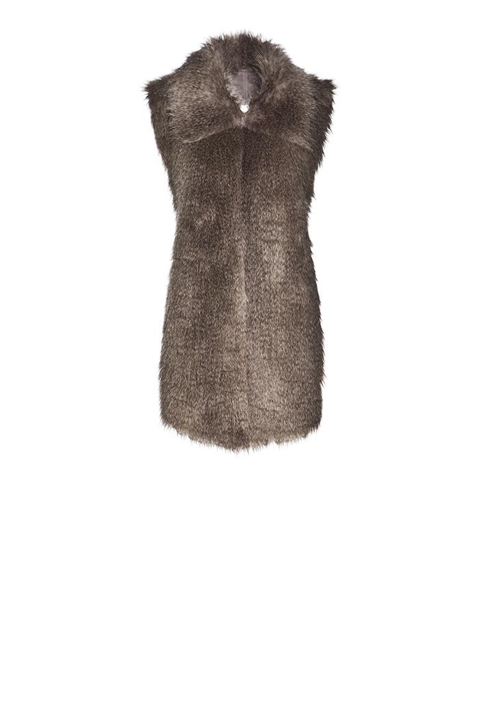 Adolfo Domínguez Otoño Invierno 2013 #Vest #Fur #Shopping #Winter #Fashion #JockeyPlaza