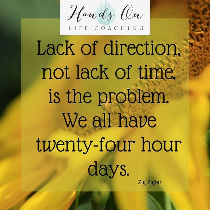 Direction and focus will get you there. #handsonlifecoaching