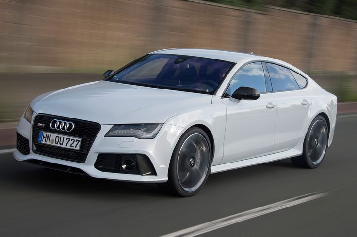Angry-Looking Cars You Don't Want in Your Rearview Audi RS7