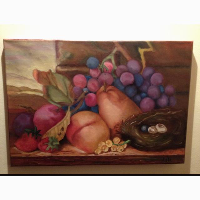 Oil on canvas 35x50