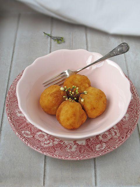 Croquetas de pera y queso Brie. To be Gourmet | Recetas de cocina, gastronomía y restaurantes.