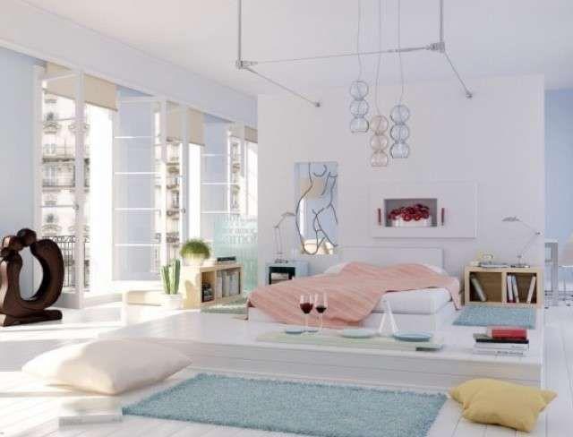 Arredare con i colori pastello - Camera da letto dai colori pastello