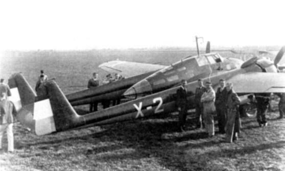 Fokker G1 prototype