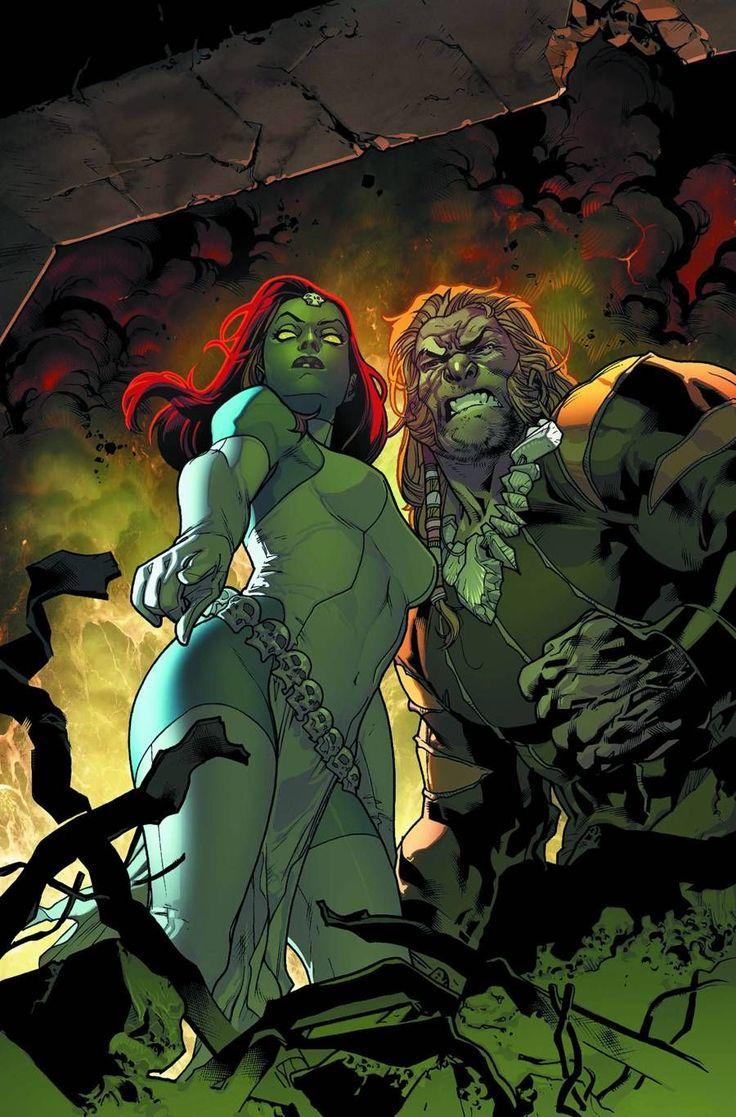 Mystique & Sabretooth Stuart Immonen Anime & Comics